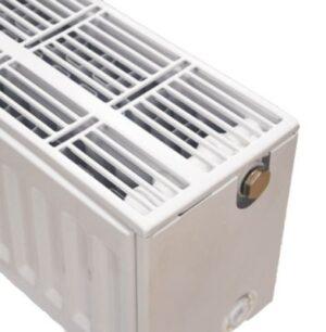 NY C4 radiator 33 - 200 x 1800 mm. RAL 9016. Hvid
