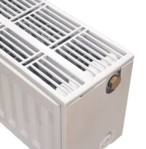 NY C4 radiator 33 - 200 x 2000 mm. RAL 9016. Hvid