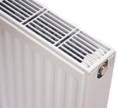 NY C4 radiator 22 - 600 x 600 mm. RAL 9016. Hvid