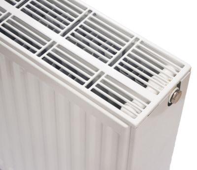 NY C4 radiator 33 - 500 x 1000 mm. RAL 9016. Hvid