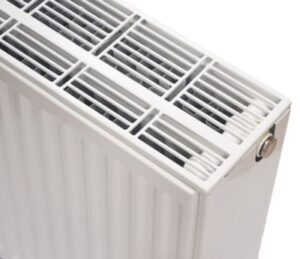 NY C4 radiator 33 - 900 x 1000 mm. RAL 9016. Hvid