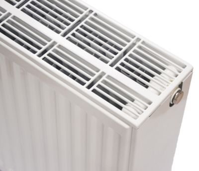 NY C4 radiator 33 - 600 x 1000 mm. RAL 9016. Hvid