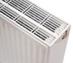 NY C4 radiator 33 - 900 x 500 mm. RAL 9016. Hvid