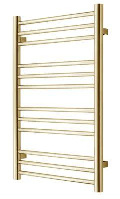 TVS PLUS 12-500 guld håndklæderadiator 785x500mm Vandbåren CC 470mm