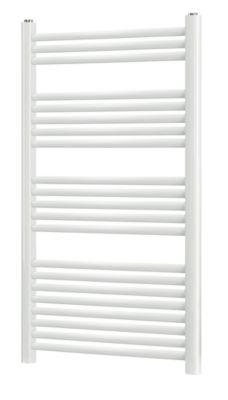 Norm Håndklæderadiator 1150x600 mm. Lige rør. Hvid