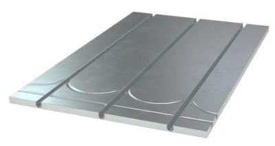 gulvvarmeplade 16 mm 1175x750x17 mm + vendespor og alu. varmef. CC 150