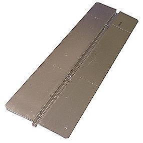 Uponor varmefordelingsplade i aluminium 1150x280 mm