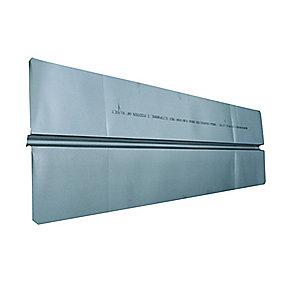 varmefordelingsplade Ø16 mm. 180x1000 mm