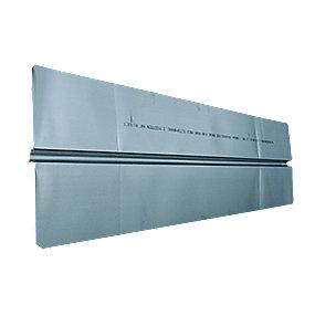 varmefordelingsplade Ø20 mm. 280x1150mm