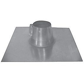 Øland Tagindækning TID-0-100 Ø100 mm. 0-5gr. Inkl. rørkrave. Galvaniseret