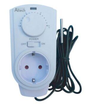 frostvagt termostat til frostsikringskabel