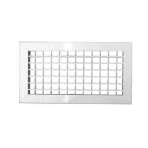 FLX rist 300-100 mm galvaniseret pulverlakeret hvid RAL 9016
