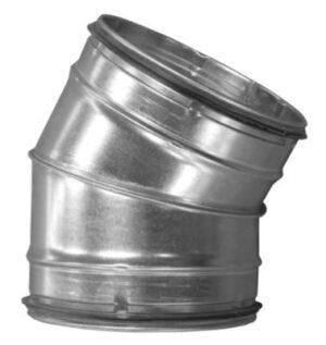 bøjning Ø400 30 gr. BF-400-30 nippel/nippel