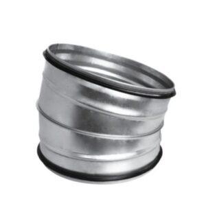 bøjning 15° Ø100 mm Nippel/Nippel
