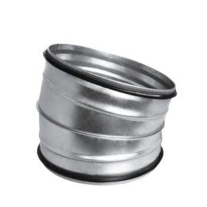 bøjning Ø200 15 gr. Nippel/Nippel