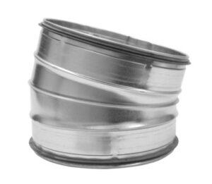 bøjning Ø250 15 gr. BF-250-15 nippel/nippel