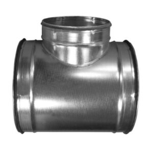 T-stykke Ø500 TPR-500-500 nippel/nippel