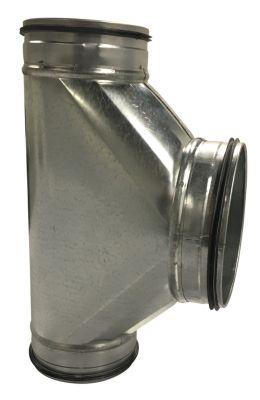 T-rør 90° Ø125-160 mm