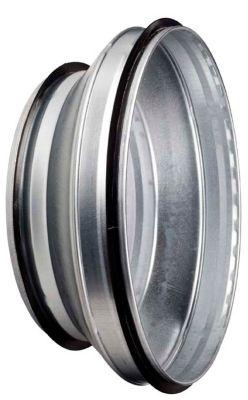 centrisk Reduktion Ø125-100 mm Nippel/Nippel