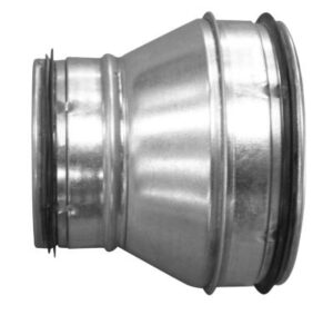 centrisk reduktion kort Ø400-315 RCL-400-315 nippel/nippel