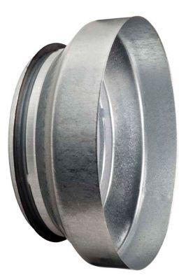 centrisk Reduktion Ø125-100 mm Muffe/Nippel