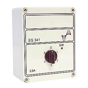 5-trins hastighedsregulator til varmeventilator. Model ES 341 2