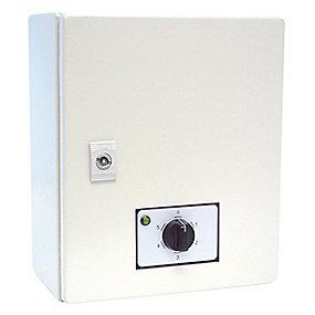 5-trins hastighedsregulator til varmeventilator. Model ES 341 9