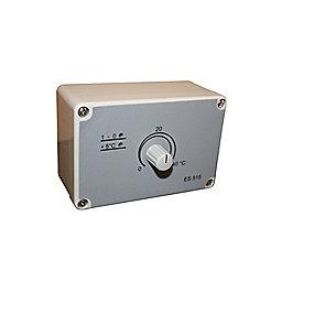 rumtermostat til varmeventilator. Model ES515 16A