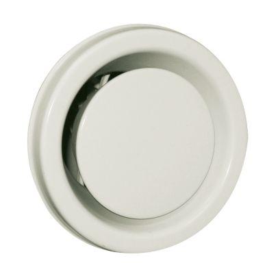 Øland Udsugningsventil KSO Ø=125 mm. Uden ramme. Hvid