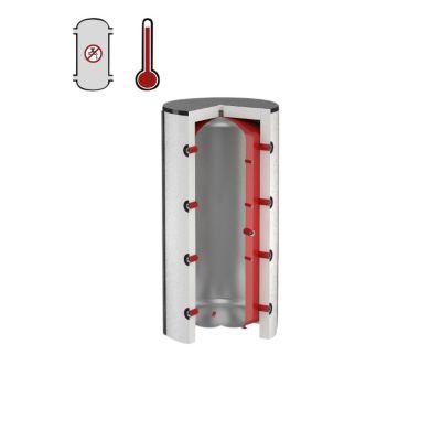 Flamco PS bufferbeholder 300 ltr. til centralvarme ekskl. Isolering