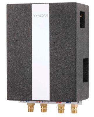 Danfoss Redan XB06H+60 Akva Les II VV vandvarmer med veksler. Fuldisoleret