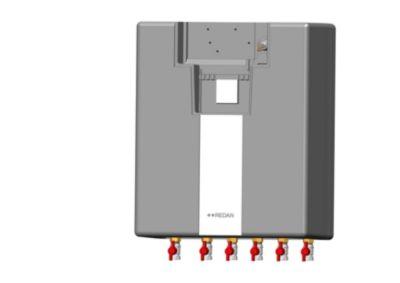 Danfoss Redan AkVA LUX II SE XB06H40 fuldisoleret unit med ECL110. Projektmodel