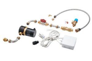 Wavin Calefa cirkulationssæt med pumpe til fjernvarmeunit