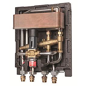 Gemina Termix One type 1 med AVTB ventil. Fuldisoleret