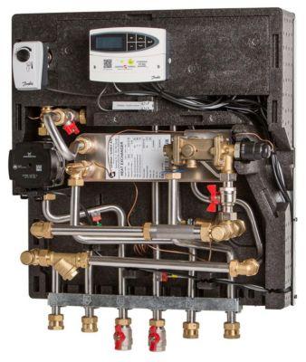 Gemina Termix VMTD-1 opbl. incl. fuldisolering med TPV ventil