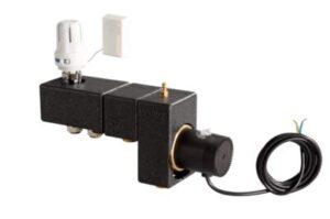 Uponor Fluvia minishunt T PUSH 12 TH-X med termostat. Komplet inklusiv isolering