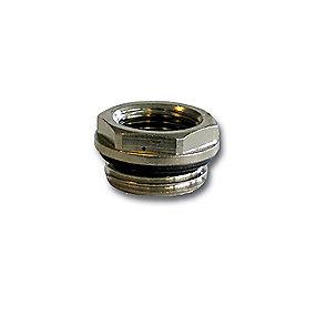 nippelmuffe 1/2'' - 3/8'' med O-ring