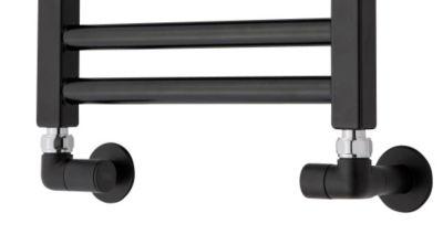 TVS ventilsæt 150 sort 1/2 manuelt ventilsæt inkl rørafdækninger