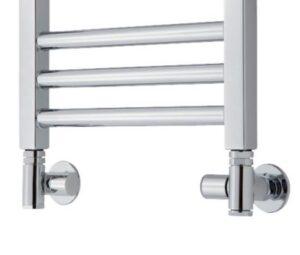TVS ventilsæt 130 krom 1/2 manuelt ventilsæt inkl. rørafdækninger til kombidrift. Krom