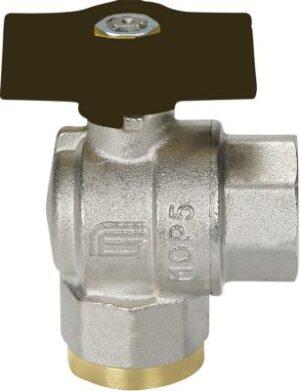 Mercury vinkel kuglehane 1/2'' muffe/muffe T-greb