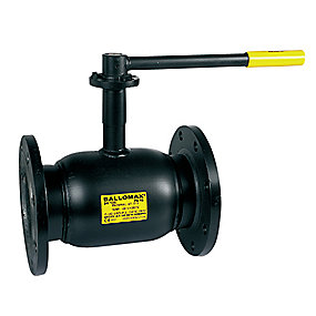 Broen Ballomax kugleventil DN125. PN16. Flange/flange