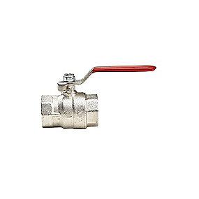 kuglehane 1.1/4'' muffe/muffe. Byggelængde 78 mm