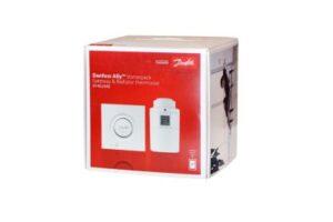 Danfoss Ally Starter Pack med 1 stk. Ally gateway og 1 stk. Ally elektronisk radiatortermostat