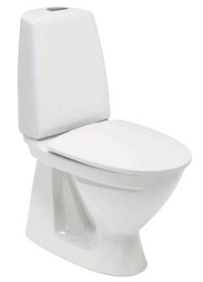 Ifö Sign toilet model 6860 med skjult S-lås. Uden klosettilslutning
