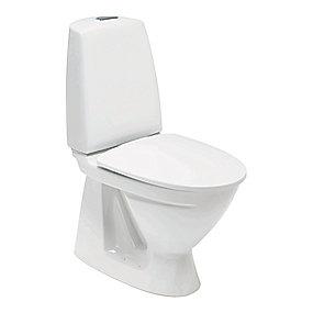 Ifö Sign toilet model 6860 med skjult S-lås