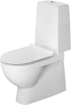 Duravit Durastyle Nordisk Toilet med s-lås & Åben skylle-rand