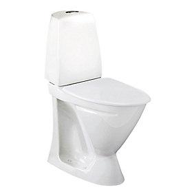 Ifö Sign toilet 6872 Hvid Universallås Høj model (P-lås)