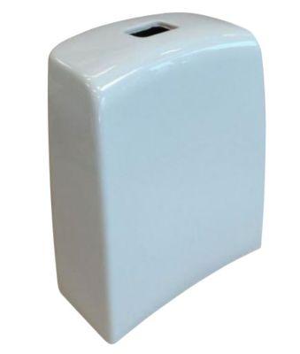 Ifö Spira cisternekappe af porcelæn