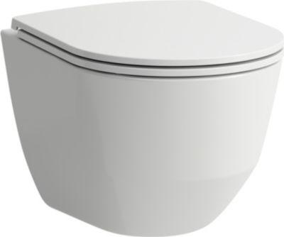 Laufen Pro Rimless sampak Compact hængeskål 49 cm med sæde quick release & softclose. Skjult montering