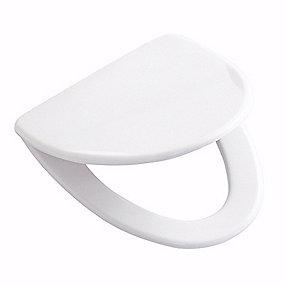 Ifö Cera toiletsæde. Blød model. Hvid